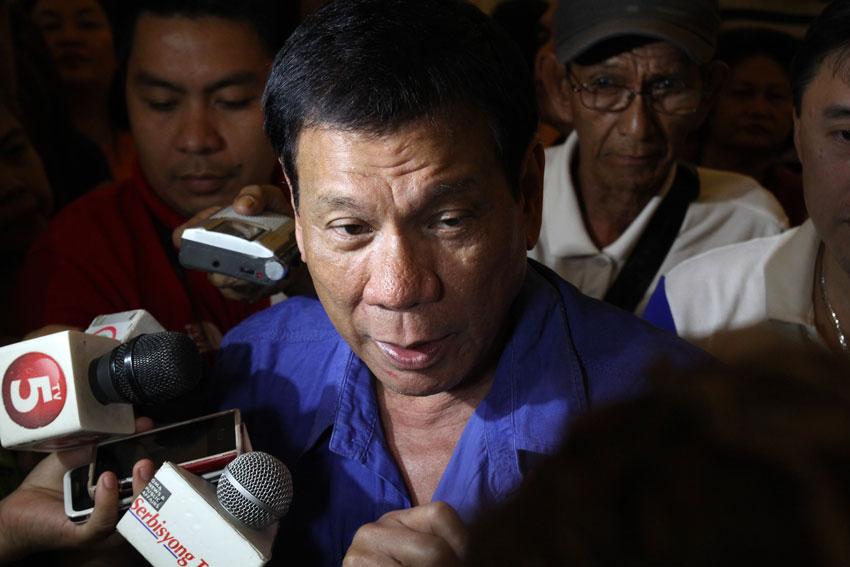 Duterte assures public: Davao City is very safe