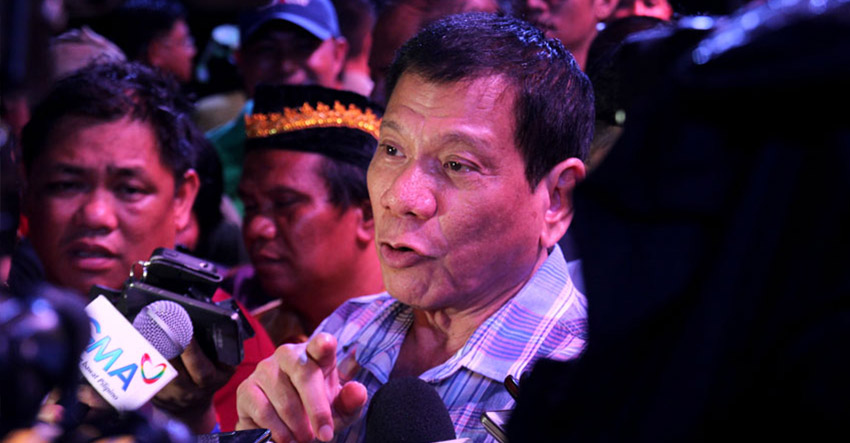 Davao's Duterte to begin presidential race in Manila's largest slum