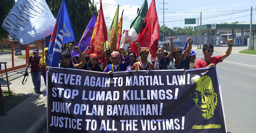 Davao activists say #NeverAgain to Martial Law
