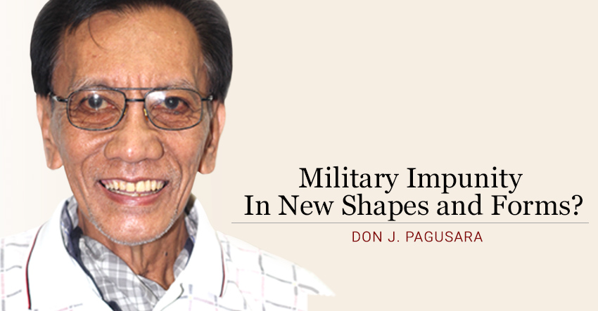 Military Impunity In New Shapes and Forms?