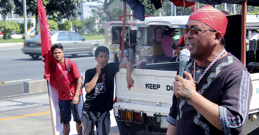 Lumads protest CHR's snail-paced action on killings