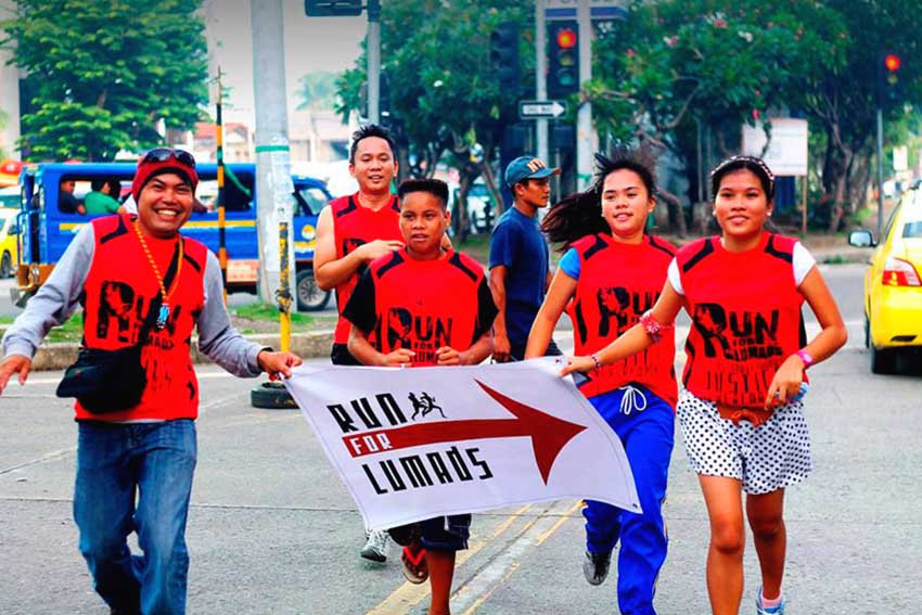 RUN FOR LUMADS