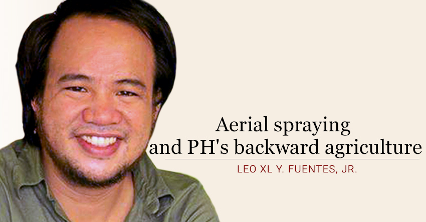 Aerial spraying and PH's backward agriculture
