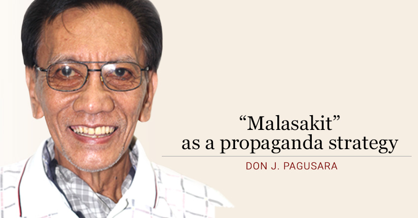 """Malasakit"" as a propaganda strategy"