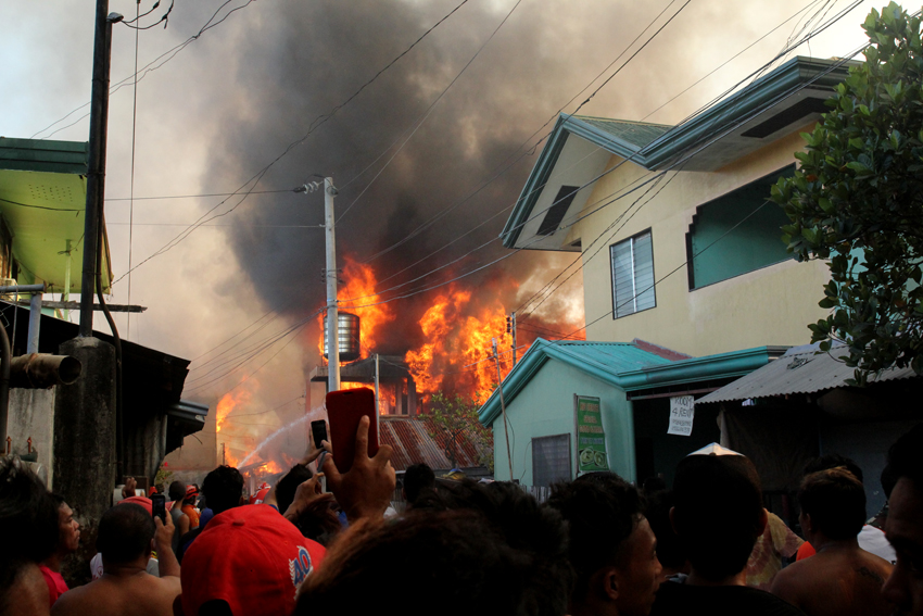 BFP tallies 362 fire incidents in Davao region