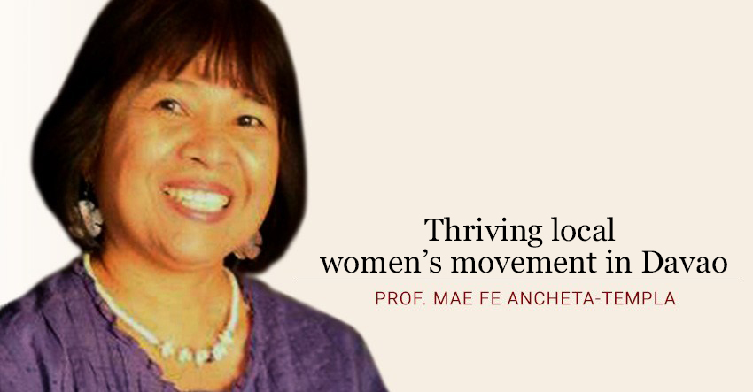 Thriving local women's movement in Davao