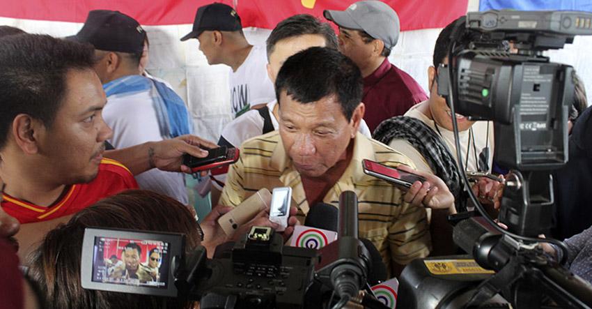 Davao City Mayor Rodrigo Duterte (Earl O. Condeza/davaotoday.com file photo)