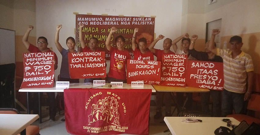 10,000 workers to join Labor Day march protest in Davao