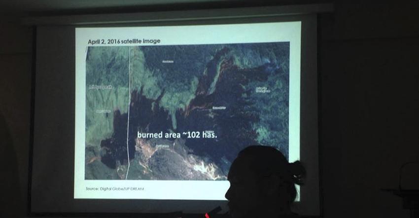 BFP declares Mt. Apo fire 'under control'