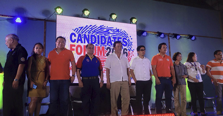 Candidates forum: Davao del Norte pols differ in contractualization views, unite in federalism