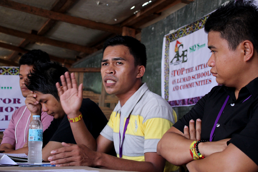 Lumad school teacher to file raps vs CAFGU, military