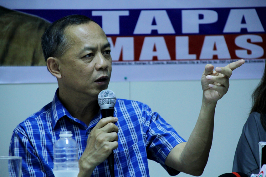 CRITERIA. Team Duterte spokesperson Peter Laviña says that they have four criteria to consider in selecting the members of the President-elect Rodrigo Duterte's cabinet members: shared vision, integrity, ability and personal sacrifice. (Ace R. Morandante/davaotoday.com)