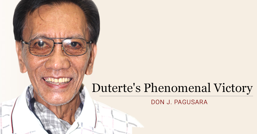 Duterte's phenomenal victory