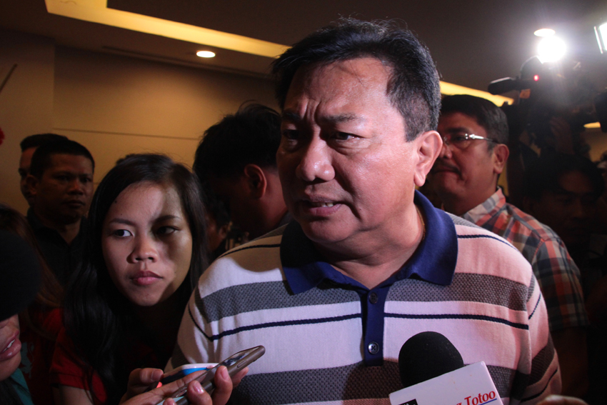 "NEXT HOUSE SPEAKER. Davao del Norte Rep. Pantaleon Alvarez says he is positive of being the next House speaker. Alvarez met with current House Speaker Feliciano Belmonte in Davao City on Tuesday. He said more than 200 representatives are part of the coalition which forms a ""super majority"" in the House of the Representative.(Ace R. Morandante/davaotoday.com)"