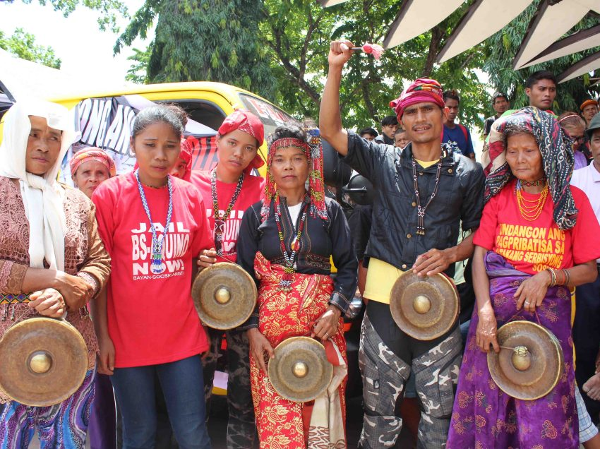 PHOTOS|Lumad, farmers gather in Davao for Duterte's inauguration