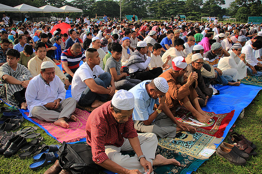 Muslims celebrate 'timely, relevant' Eid'l Fitr in Davao