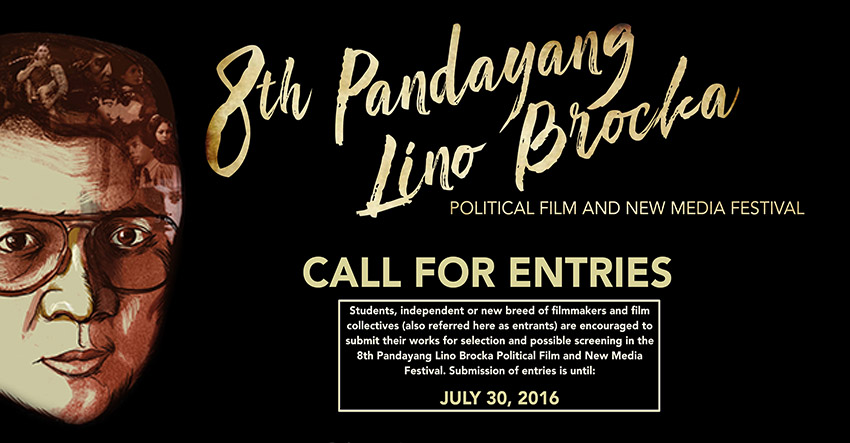 Lino Brocka film fest now accepts entries