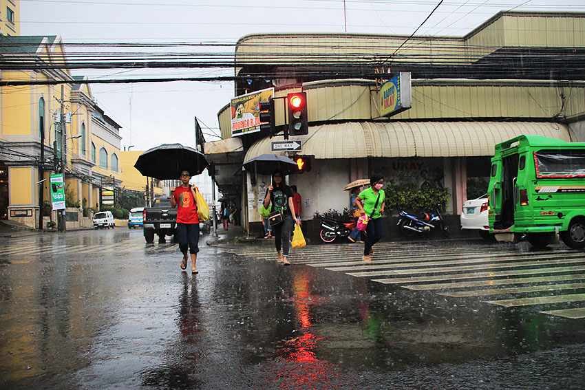 Spotted LPA to bring rains in Davao, nearby provinces