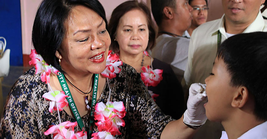 DOH-XI launches nationwide deworming