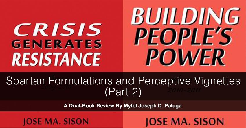 Spartan Formulations and Perceptive Vignettes (Part 2)