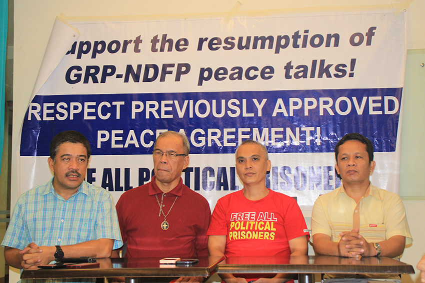 19th NDF CONSULTANT. Porferio Tuna, Jr., the last National Democratic Front of the Philippines consultant was released Friday afternoon, August 19, the third from Mindanao to join the peace talks with the Government of the Republic of the Philippines. (Earl O. Condeza/davaotoday.com)