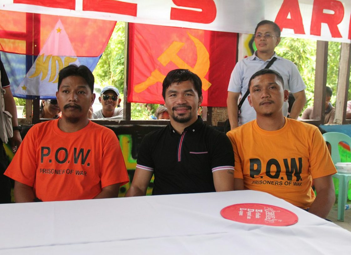 Senator Manny Pacquiao with Ongachen and Grande by Kilab Multimedia
