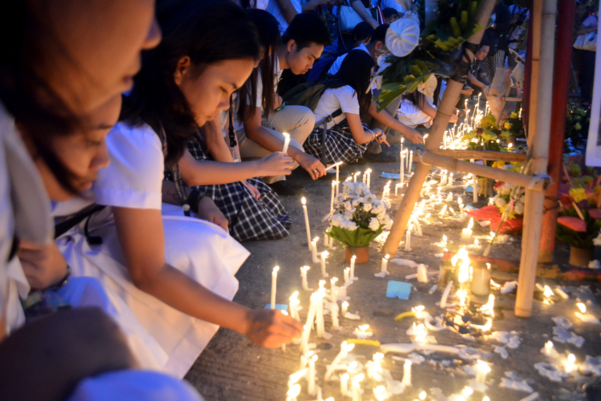 Roxas Night Market blast victims demand a final decision on case