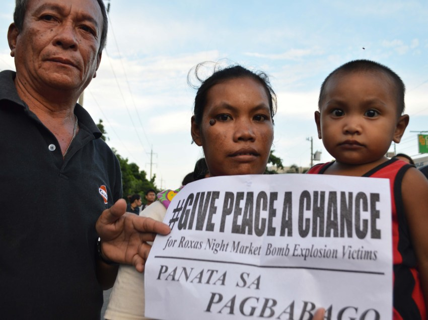 PHOTOS | Davao mourns for victims of deadly blast