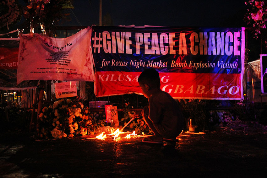 Pregnant woman victim in Davao bombing dies