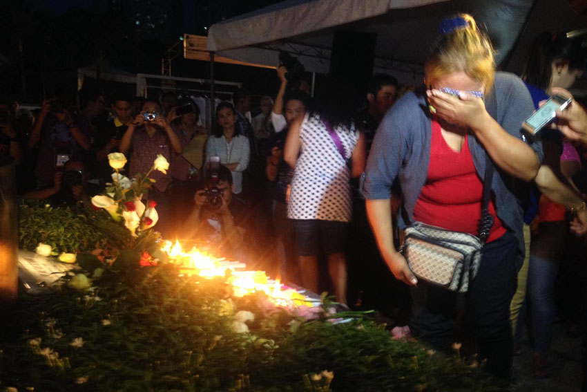 PHOTOS | Davao unveils memorial marker in night market