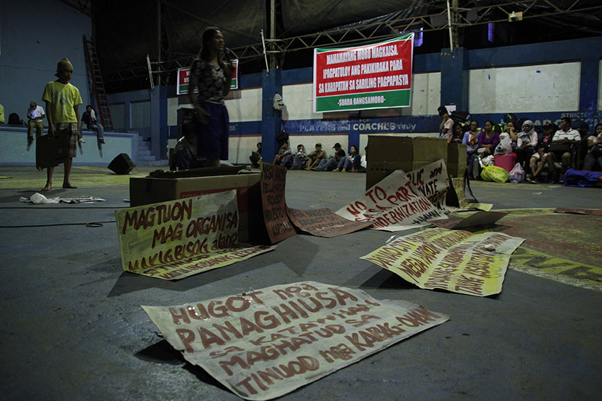Cultural night kicks off Lumad, Moro's HR caravan