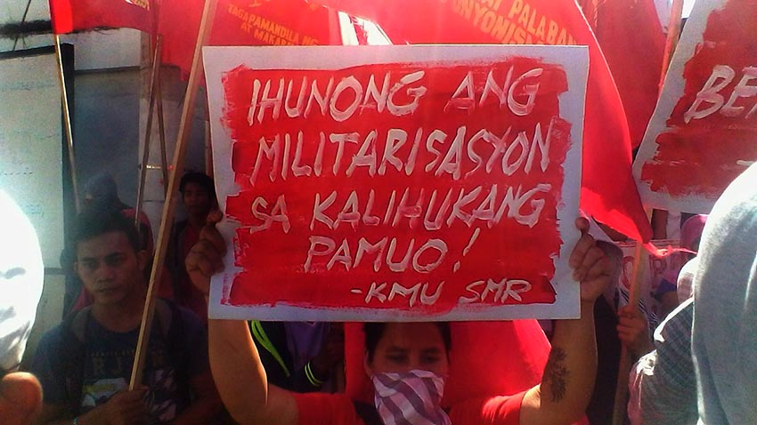 Duterte's Red tagging intensifies attacks vs labor union workers –KMU