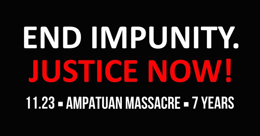 7 years after Ampatuan Massacre: Case delays blight any hope for justice