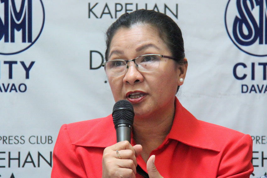 CALL FOR SUPPORT. Department of Science and Technology XI Assistant Regional Director Elsie Mae Solidum says she is hopeful that a lot of private agencies and stakeholders in Mindanao will be interested in the various products and technologies to be exhibited on Tuesday, Dec. 13 during the Mindanao-wide Technology Transfer Day. (Maricar Emata/davaotoday.com)