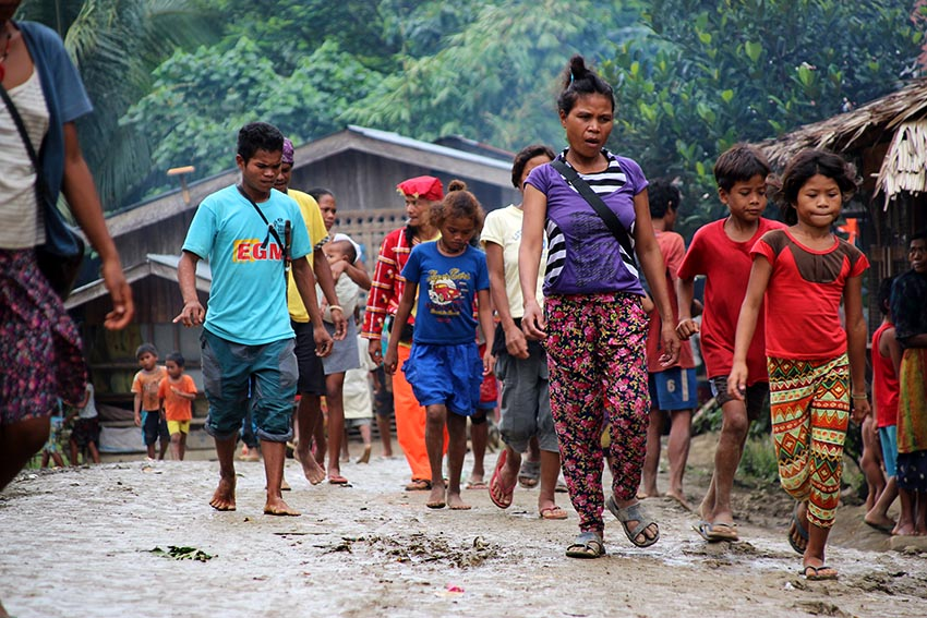 IN PHOTOS | The state of the Lumad in Talaingod after evacuation