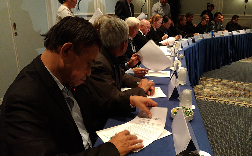 GRP, NDFP accelerate CASER meetings with signing of ground rules