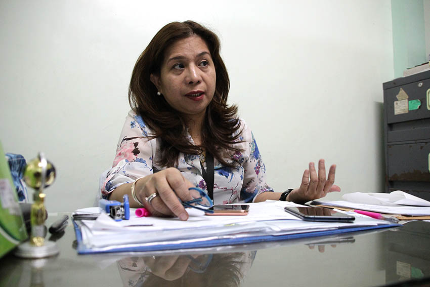Dr. Jordana Ramiterre head of the Reproductive Health Wellness Center says they recorded 15-30 positive cases of HIV/AIDS daily in Davao City for the year 2016. (Paulo C. Rizal/davaotoday.com)