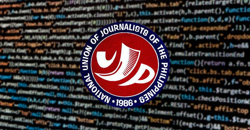 Hacking downs NUJP website