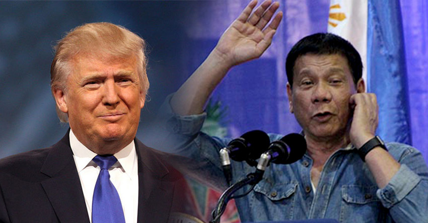 Trump, Duterte and clenched fist