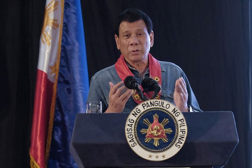Duterte to Reds: Do not coerce me, military might not like it