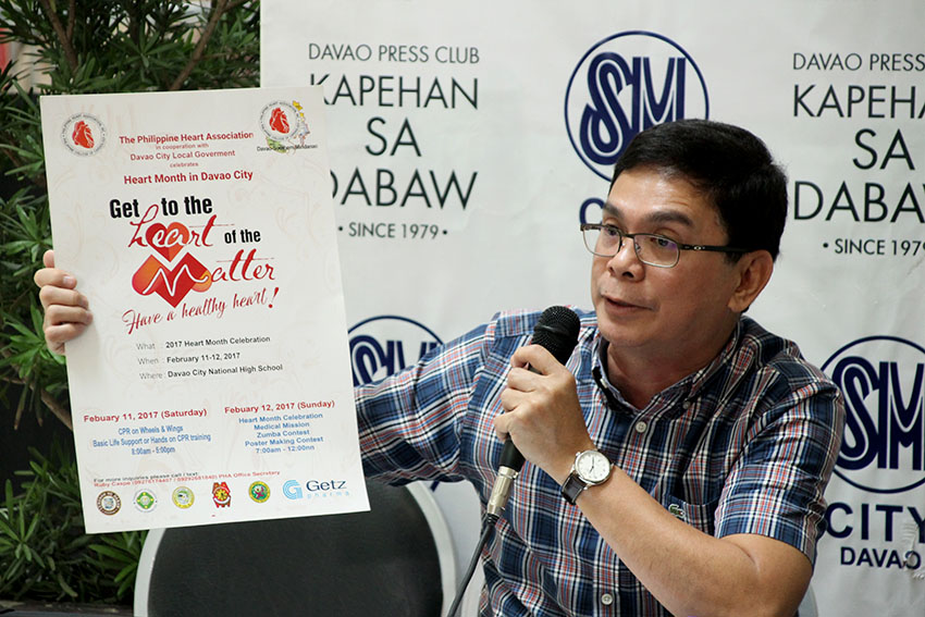 Davao to host Heart Month 2017 celeb