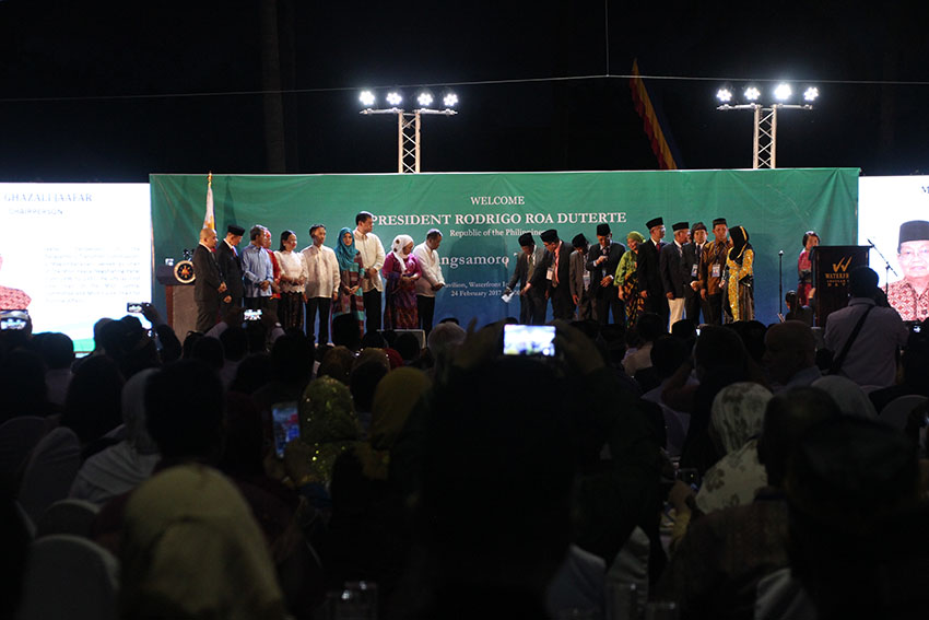 IN PHOTOS | New Bangsamoro Transition Commission launched in Davao City