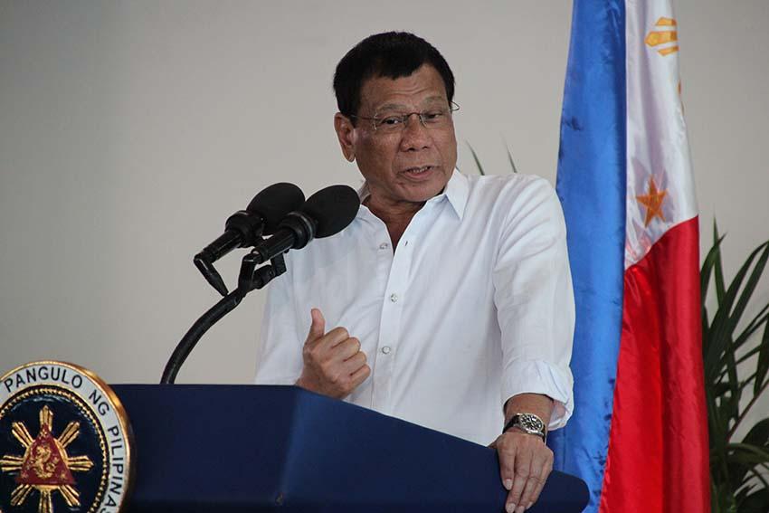 'I never lifted a finger,' says Duterte on impeachment rap vs Robredo
