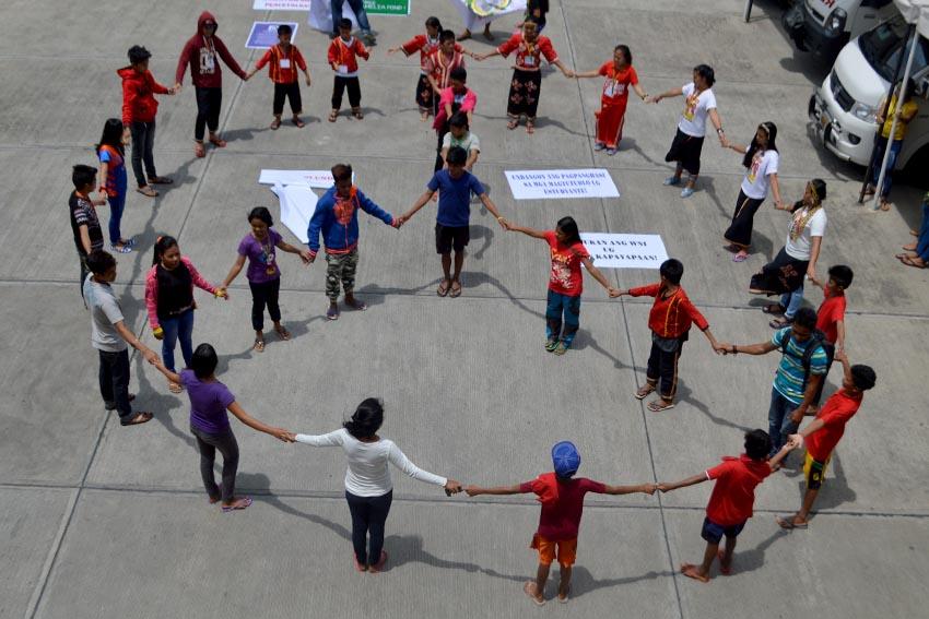 LUMAD CHILDREN FOR PEACE