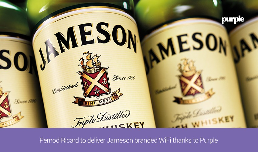 Thanks to Purple: Pernod Ricard to deliver Jameson branded WiFi in PHL