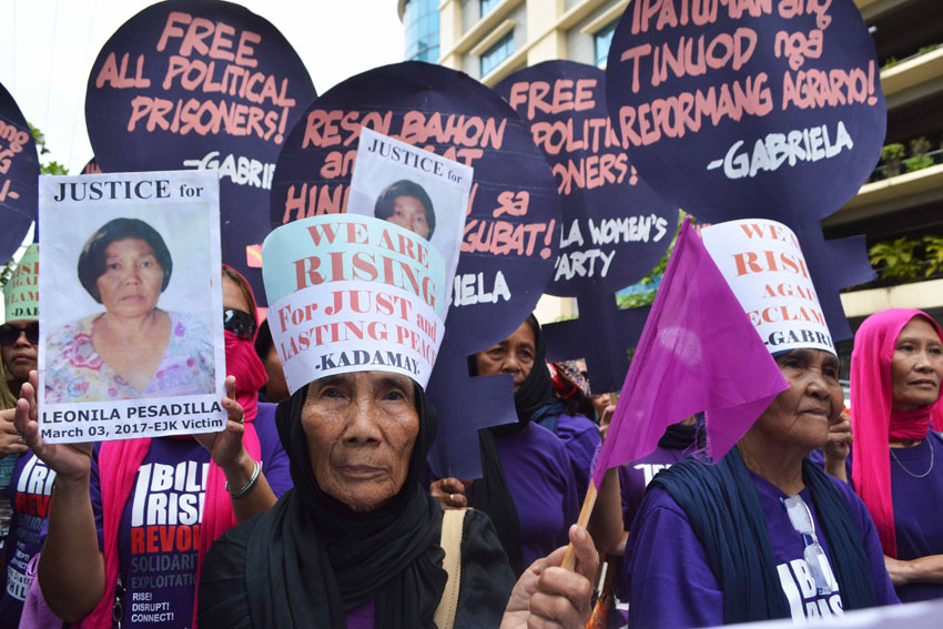 IN PHOTOS: International Women's Day march in Davao City
