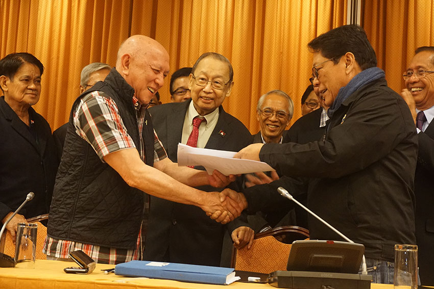 Duterte yet to issue formal document terminating talks with communists