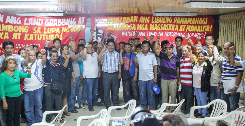 Agrarian Reform Secretary Mariano to supervise reinstallation of farmers in Tagum City