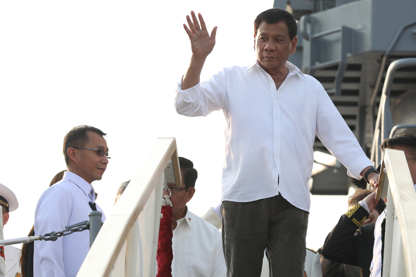 Duterte off to Russia for 4-day state visit