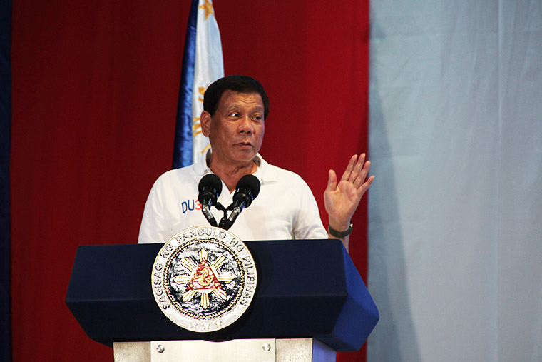 ​Duterte promises to end contractualization anew on Labor Day